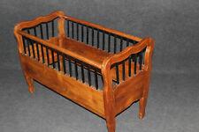 Bett, Kinderbett, Kirschbaum, Biedermeier, Louis Philippe #2609