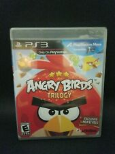 Angry Birds Trilogy (Sony PlayStation 3, 2012) Sealed