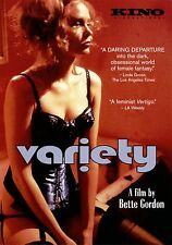 Variety DVD Region ALL ...one woman's obsession with adult films and magazines