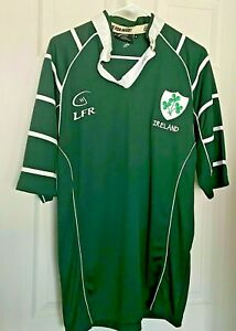 Live For Rugby LFR Henley Ireland Irish Union Football Jersey Men's Med Used