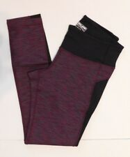 Kirkland Signature Women's Athletic Leggings LARGE Purple Green NEW
