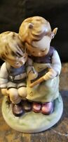 "M I Hummel Goebel ""SMART LITTLE SISTER"" Porcelain  Germany Mold 346 TMK 7"