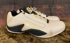 Dwayne Wade Converse 2.0 Shoes Low Basketball 2006 White Navy Yellow Sz 10.5