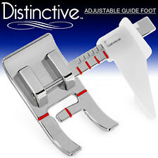 Distinctive Adjustable Guide Sewing Machine Presser Foot w/ Free Shipping!