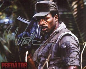 Actor Carl Weathers signed PREDATOR 8x10 movie photo