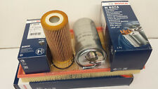 VW Golf MK IV 1.9 SDi TDi 1896cc Oil Air Fuel Filter  Service Kit Genuine Bosch