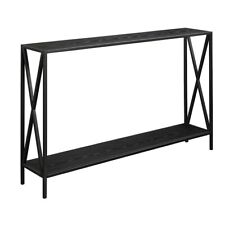 Convenience Concepts Tucson Console Table, Black - 161899BL