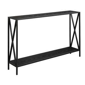 Convenience Concepts Tucson Console Table, Black - 161899BL