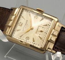 Vintage Wittnauer Revue Swiss Watch  10K GF Runs 79 revue AXA 17J