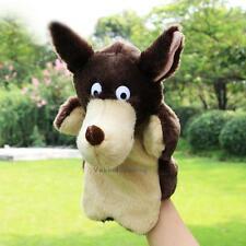 New Plush Wolf Hand Puppets Child Kids Educational TOY Preschool Kindergarten