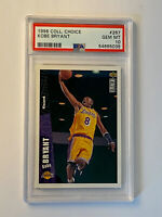 1996 Upper Deck Collectors Choice Kobe Bryant Rookie Card RC #267 PSA 10! HOF 🔥