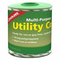Coghlan's Multi Purpose Utility Cord Polypropylene Rope for Guy Line Clothesline