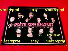 SALE ENDS SOON!!! DEATH ROW RECORDS CATALOG POSTER SUGE KNIGHT TUPAC 2PAC  SNOOP