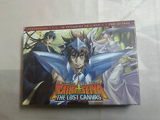 Saint Seiya The Lost Canvas 1ª y 2ª Temporada - DVD - Nuevo y precintado