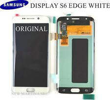 LCD SAMSUNG Galaxy S6 EDGE BIANCO G925F TOUCHSCREEN + DISPLAY originale