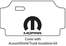 1967 1969 Dodge Plymouth Car Trunk Rubber Floor Mat Cover with M-006 MOPAR