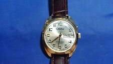 Vintage Slava 27 jewels Automatic Russian Men's Watch
