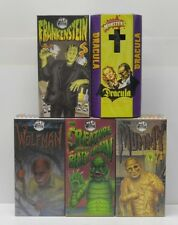 Universal Monsters Tin Robots Robot House Dracula Creature Frankenstein Set of 5