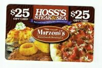 Hoss's Gift Card - Restaurant / Steak & Sea / Marzoni's / Pizza - No Value