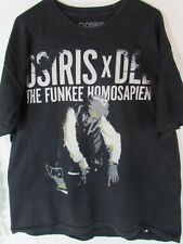Osiris x Del The Funkee Homosapien Black XL T shirt SS Extra Large Rap Hip Hop