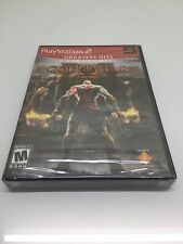 NEW FACTORY SEALED God of War II 2 DISK SET Sony PlayStation 2 Ps2