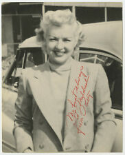 Betty Grable Signed 1950s 8 x 10 Photo / Autographed