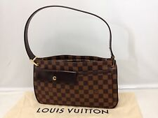 Auth Louis Vuitton Damier Brown One hand Shoulder Bag Vintage 6H230480N