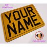 Reflective Outdoor Waterproof Sign - Personalised -  8x6 - SPECIAL ORDER