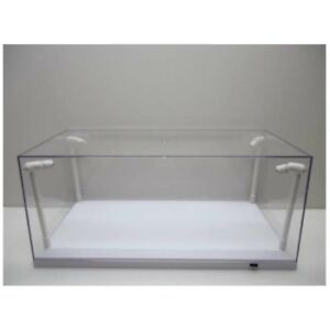 T9-189921 - 1/18 LED DISPLAY CASE WITH 4 LIGHTS 35 X 15 X 16 CM