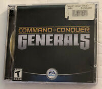 Command & Conquer: Generals (PC, 2003) Complete With 2 CDs. Command And Conquer