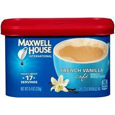 Maxwell House International French Vanilla Cafe 8.4 oz