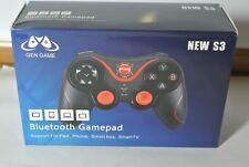 S3 Wireless Bluetooth 3.0 Gamepad Gaming Controller PC Android Smartphone NEW