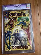 Fantastic Four #59 CGC 6.5 Restored Black Bolt Cover Inhumans Dr Doom  Surfer