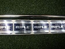 NEW Uncut STEEL Rifle Precision Flighted 5.5 Firm Flex #3-PW Iron Shafts .370