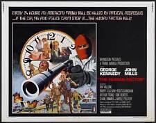THE HUMAN FACTOR Movie POSTER 22x28 Half Sheet George Kennedy John Mills Raf