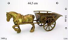 Pferdekutsche Wagen Pferd mit Kutsche Messing made in Germany Handarbeit