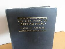 Rare Mormon LDS Religious Life of Brigham Young Vintage FAMILY COLLECTION
