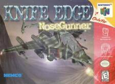 Knife Edge Nose Gunner N64 Great Condition Fast Shipping