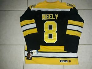 CAM NEELY BOSTON BRUINS 2013 STANLEY CUP CCM HEROES THROWBACK JERSEY