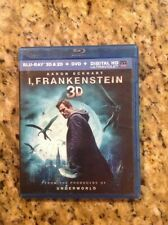 I, Frankenstein 3D(Blu-ray Disc, 2014, 2-Disc Set)Authentic US Release