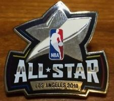 2018 NBA ALL STAR GAME PIN COLLECTIBLE LIMITED LOS ANGELES LEBRON CURRY PAUL