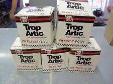 5 NOS Trop Artic Phillips 66 PO-33 Oil Filters FREE Shipping