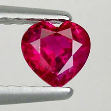 ULTRA RARE _ LOVELY PINKISH  RED NORMAL HEATED 0.48 ct  NATURAL RUBY  # 3009