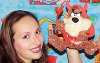 Hallmark WB Looney Tunes TALKING TAZ IN DEVIL COSTUME Plush STUFFED ANIMAL Toy