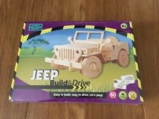 Build and Drive Jeep with Remote Control Brand New Sealed Post Free
