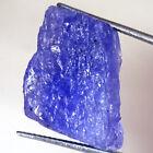 22.95 Cts 100% Natural Violet Blue TANZANITE ROUGH Gemstone 14x21x7 mm