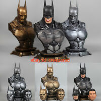 1/3 Batman Scale Action Arkham Dark Knight Dawn of Justice Bust Statue Figure