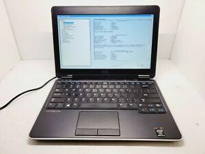 Dell Latitude E7240 Laptop 2.10GHz INTEL i7-4600U 8GB RAM No HDD Has Battery