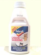 IMPROVED Polycell Liquid Sanding 500ml Brush On Formula works like Sand Paper