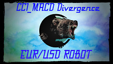 """Forex EA """"CCI_MACD Divergence Robot"""" Profitable scalping 700-1500% per year!"""